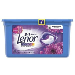 Lenor Color prací perly All in 1 Pods, vůně Amethyst 38ks