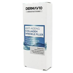 DERMA V10 Anti-Ageing wrinkle filler na vrásky, 15ml
