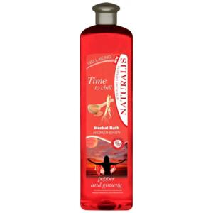 Naturalis Time to Chill Ginseng pěna do koupele 1000ml
