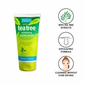 BEAUTY FORMULAS pleťový mycí gel Tea Tree 150ml
