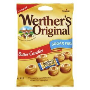Werthers Original SUGAR FREE máslové karamely 81g